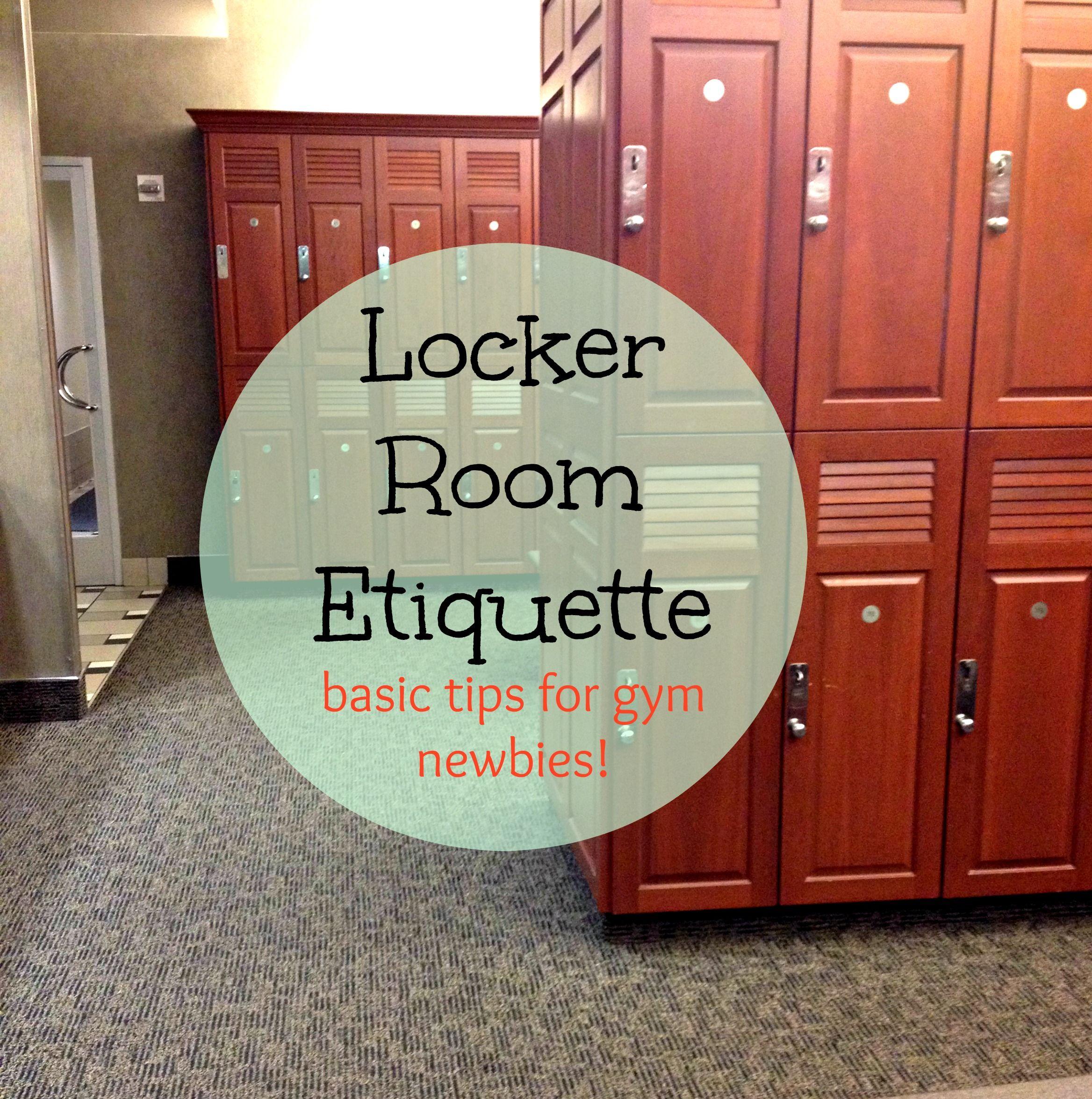 Gym Locker Room Etiquette