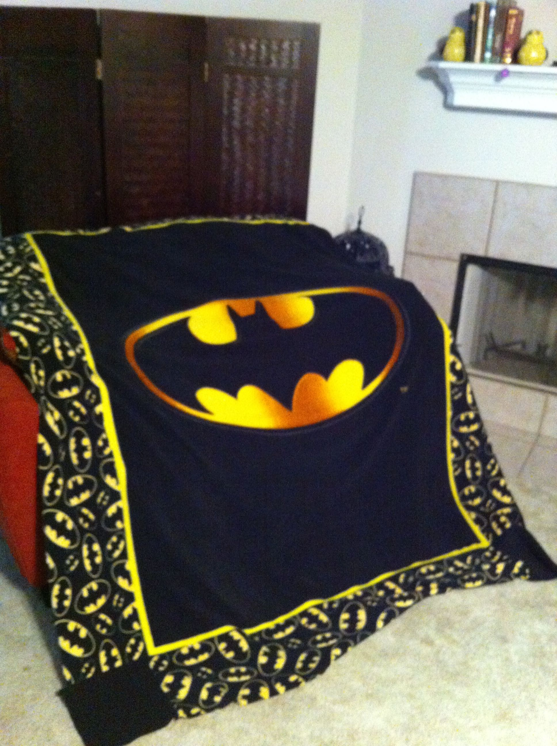 Batman Throw Blanket Batman Stuff I Want Pinterest