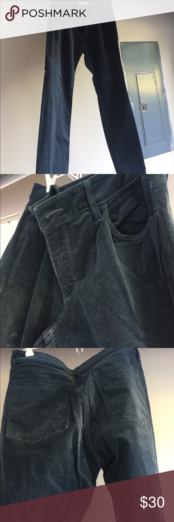 LOFT Cords Curvy Skinny style corduroy pants. Dark blue/gray tone in color. Like new, worn only a few times. Very comfortable. Business casual. LOFT Pants Skinny
