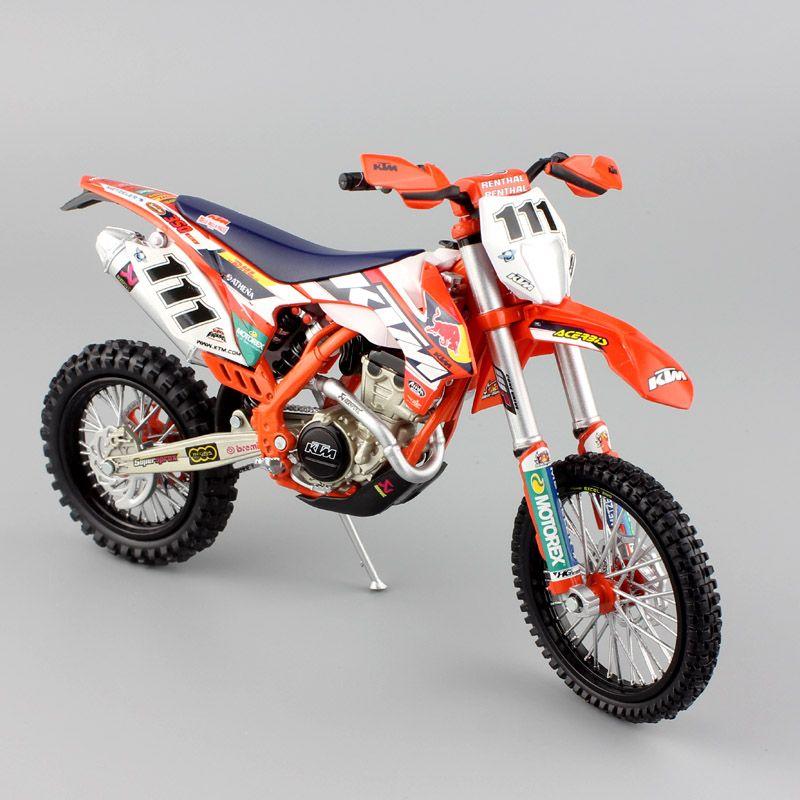 112 Scale KTM EXC350 EXC F 350 REDBULL Race No111 TEDDY BLAZUSIAK