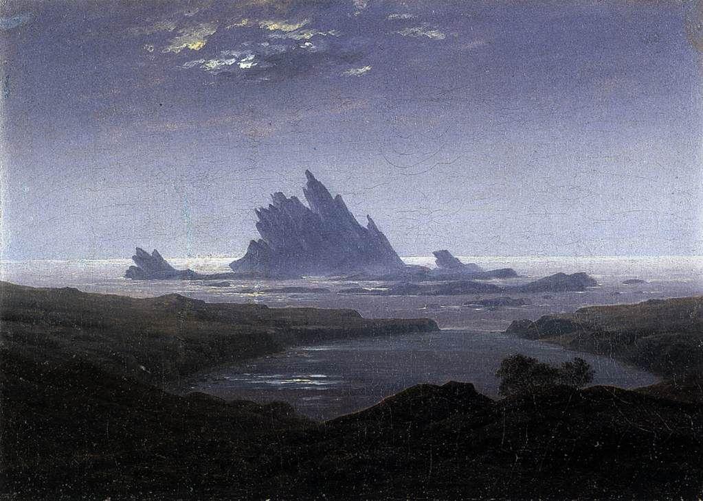 Landschaftsmalerei romantik friedrich  Resultado de imagen de caspar david friedrich | Kaspar David ...