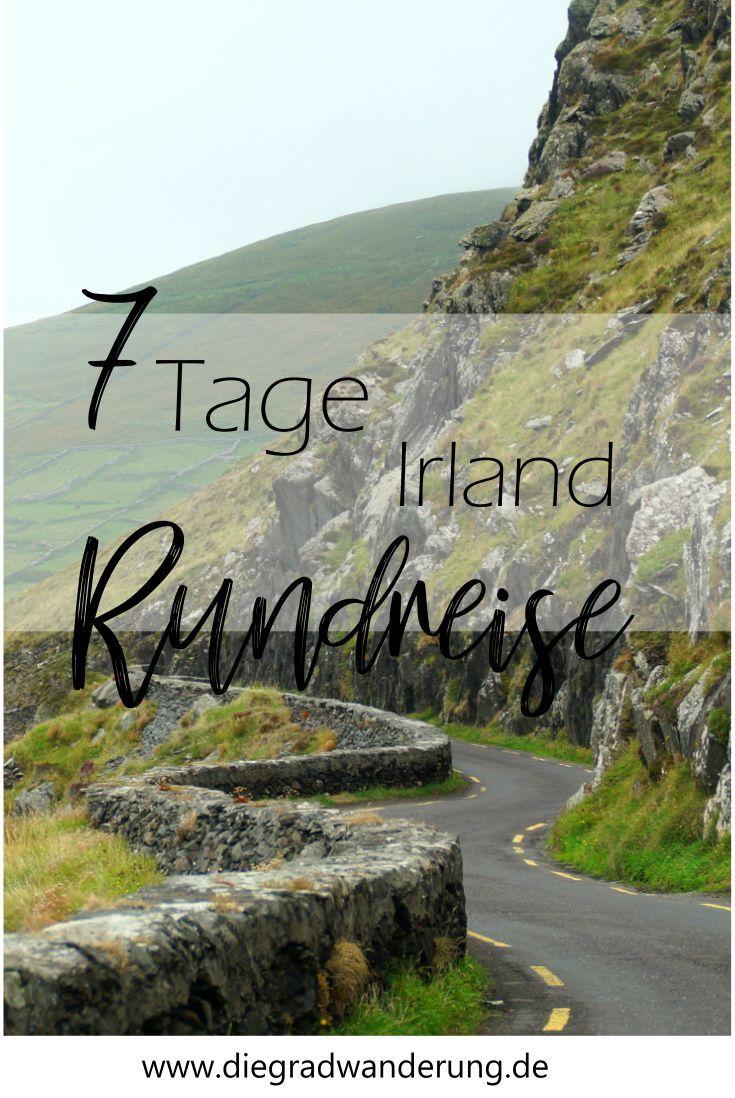 7 Tage Irland Rundreise: Was du sehen kannst · Die Gradwanderung #castles