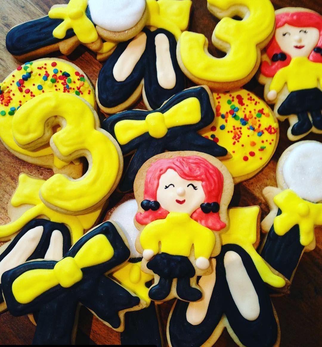 Emma Wiggle Custom Cookies!! . . cookiequeenkitschn