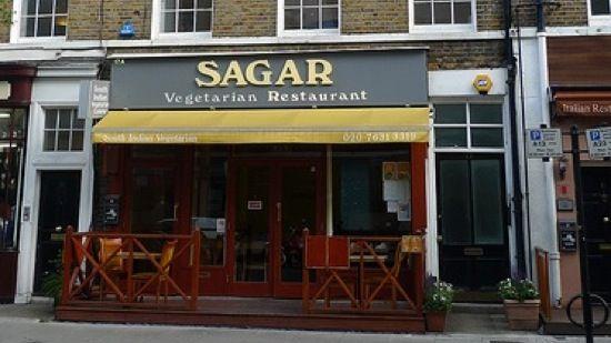 Sagar Fitzrovia Vegan Restaurants Sagar Vegetarian Restaurant