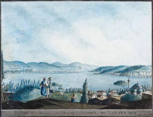 İstanbul-Clara and Luigi Mayer-1700's  www.armadaistanbul.com www.armadaistanbulculture.con
