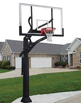 In Ground Basketball Goal Installation Assembly Http Www Professionalassemblers Org Basketball Hoop Basketball Hoop Driveway Basketball Equipment