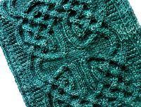 "Nennir cowl : Knitty Winter 2012 als Cowl arbeiten mit ""Futter"", Rückseite glatt re gestrickt"