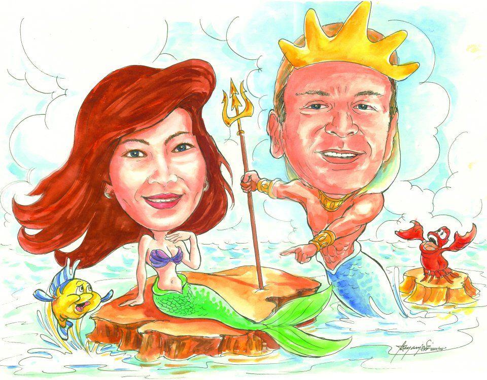 Mermaid & Siyokoy
