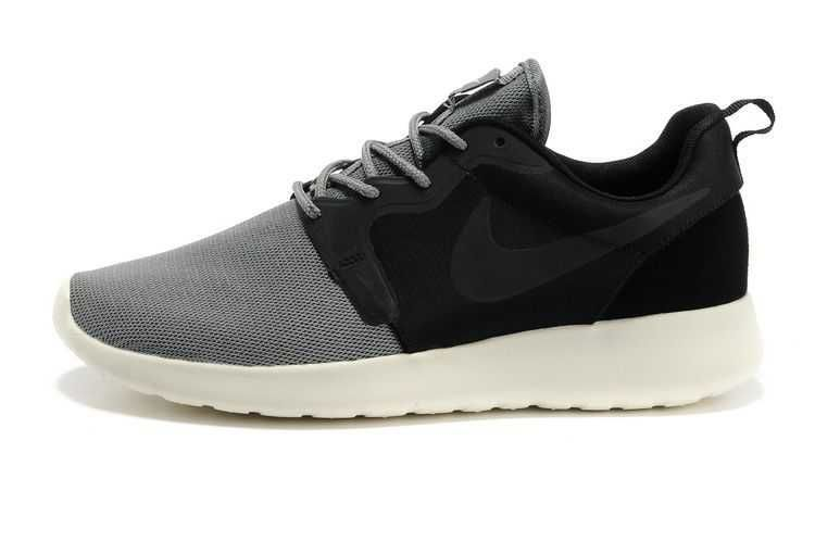 mens nike roshe run hyp pink grey