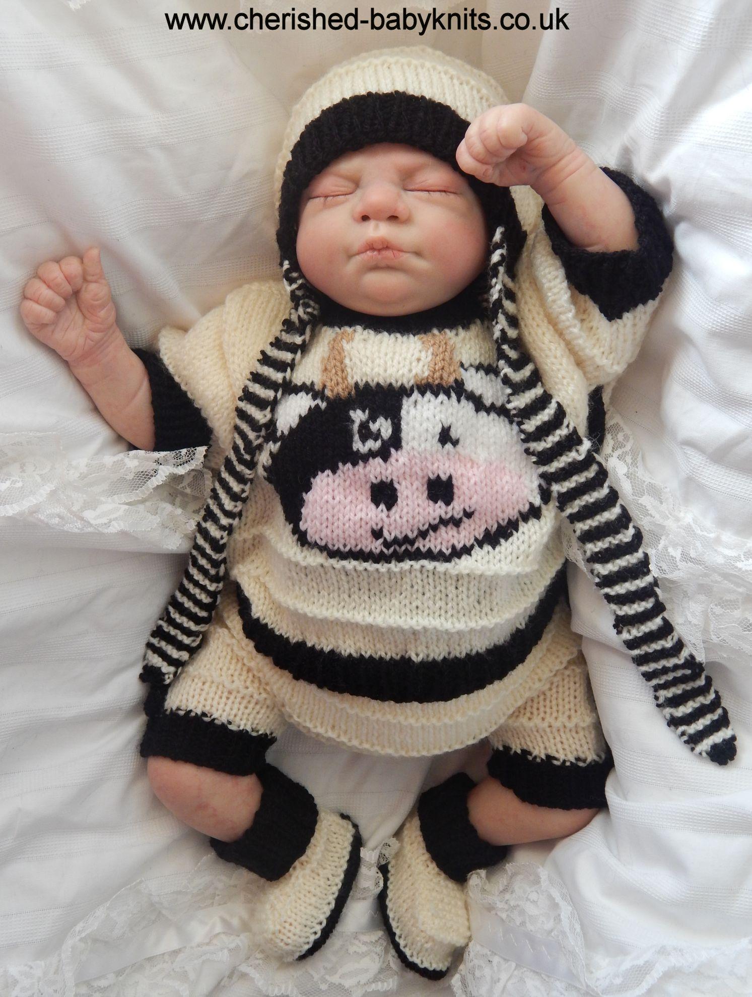 4ecfb541a Makkie MooMoo PDF knitting pattern - Sizes 14