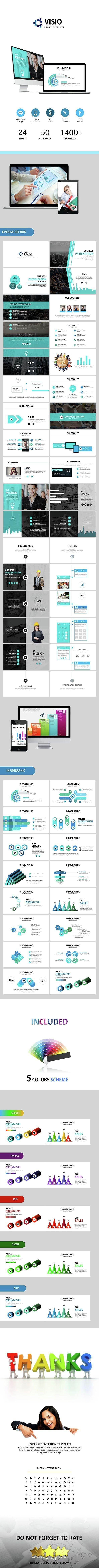 Visio  Google Slides Business Presentation  Best Business