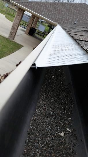 Gibraltar Building Products 5 In X 10 Ft White K Style Aluminum Gutter Og510wha The Home Depot
