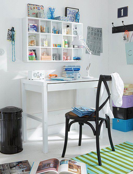 escritorios de madera para renovar las zonas de estudio y trabajo en casa decoratrix