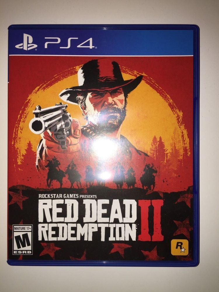 Red Dead Redemption 2 PS4 Playstation 4 BARELY USED FREE SHIPPING