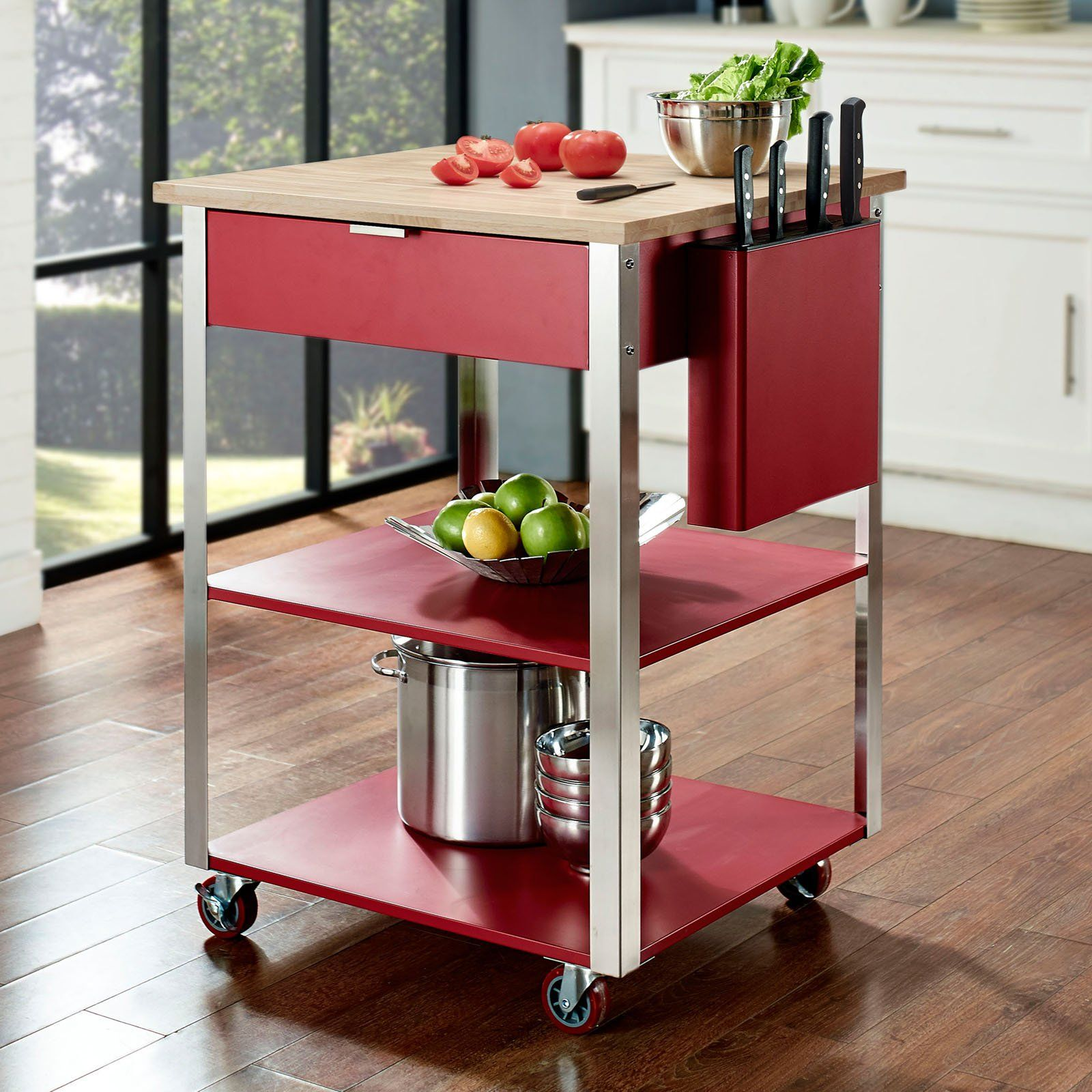 Crosley Culinary Prep Kitchen Cart | from hayneedle.com | Kitchen ...