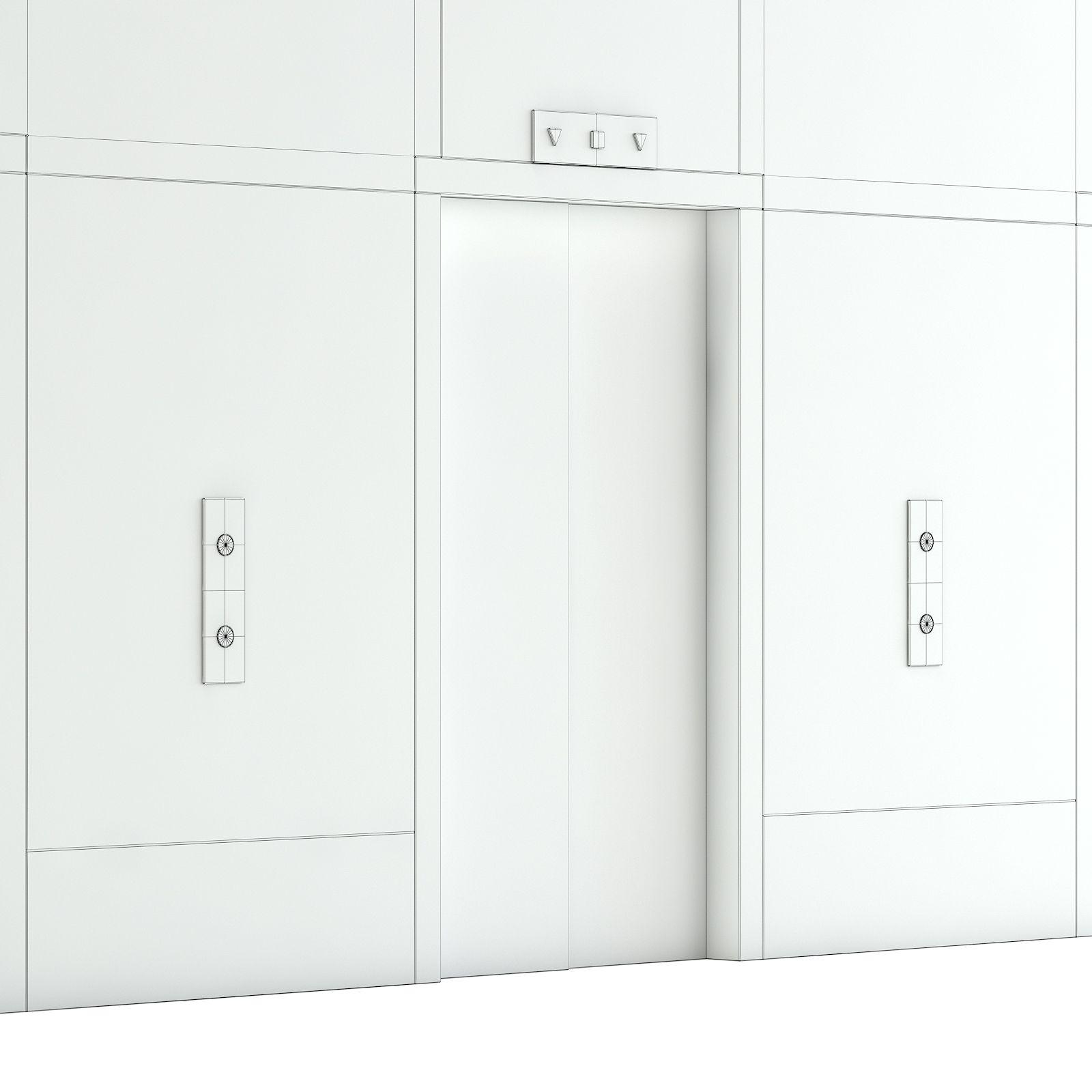 Elevator Doors 3D Model #Elevator, #Doors, #Model | my