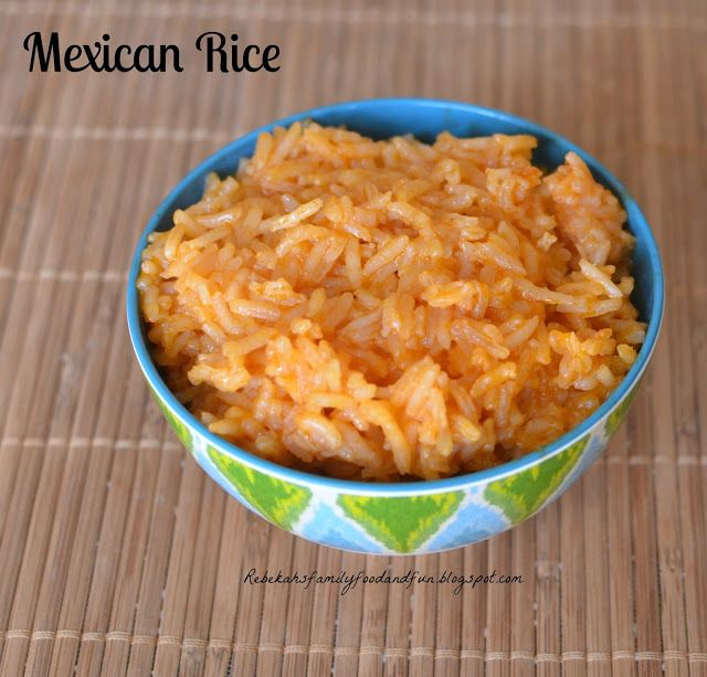 Family, Food, and Fun: Mexican Rice