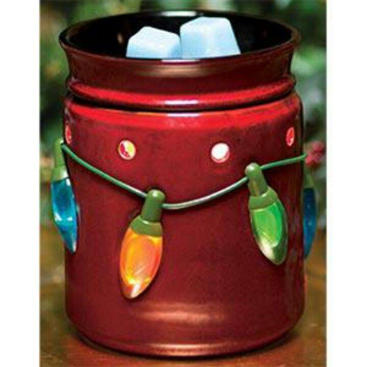 New Holiday lights Warmer!!! www.ashleyndaniel.scentsy.us