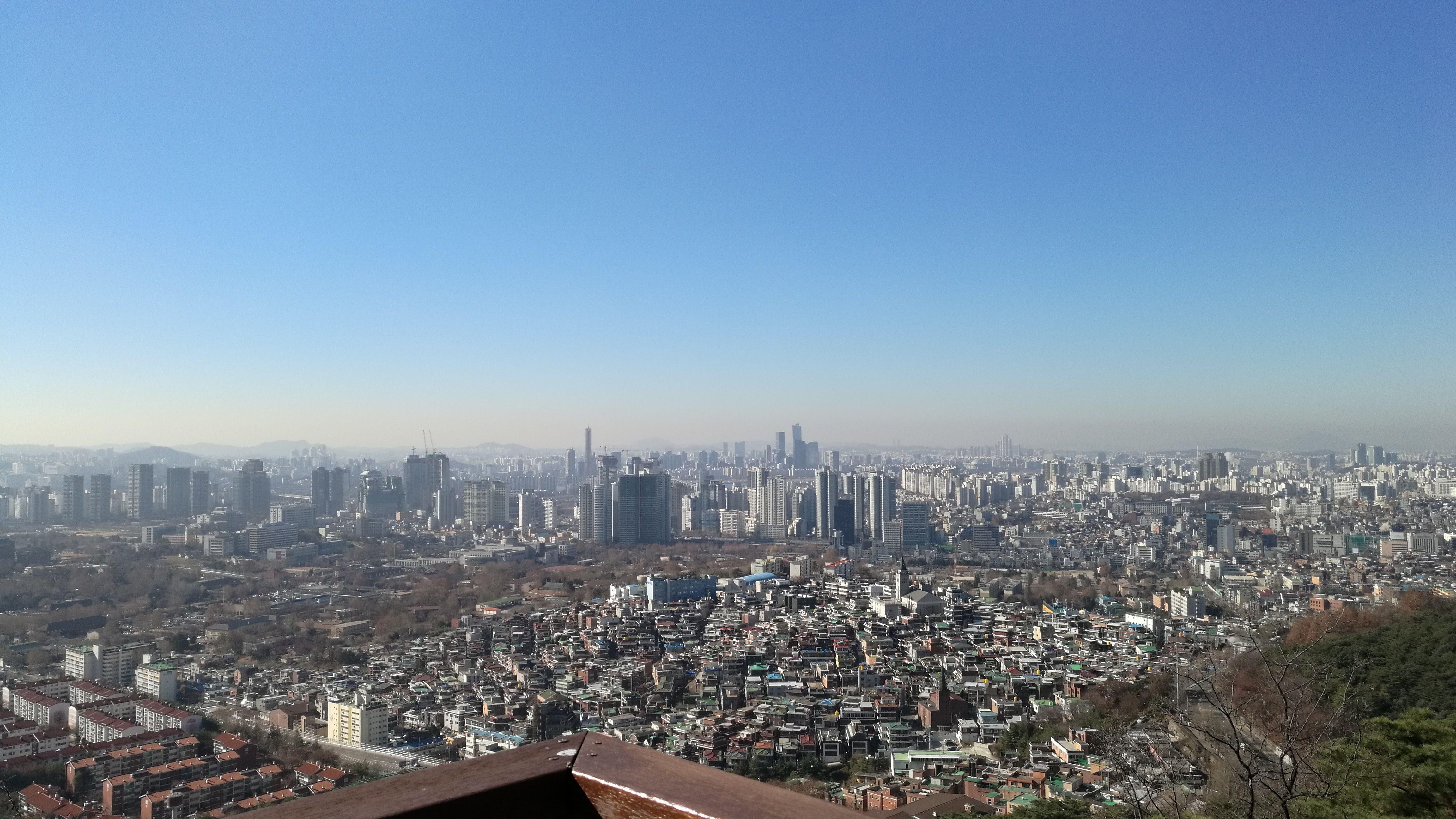 Vistas de Seúl desde la N S Tower
