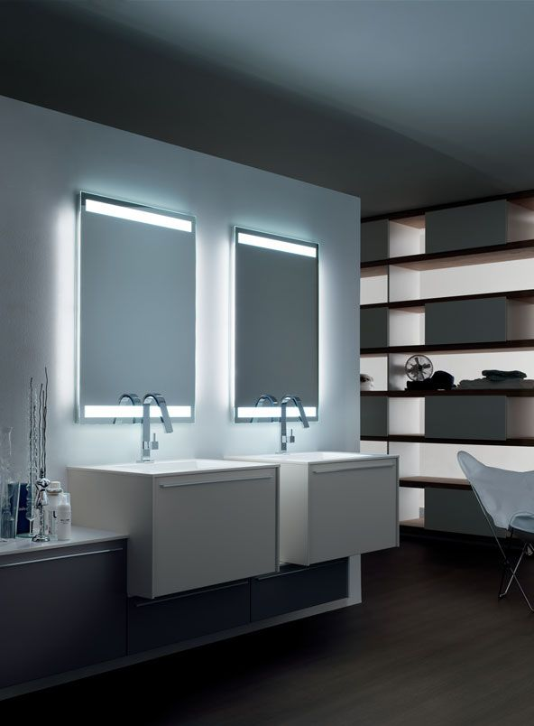 Double Bathroom units with practical drawers POLLOK collection ...
