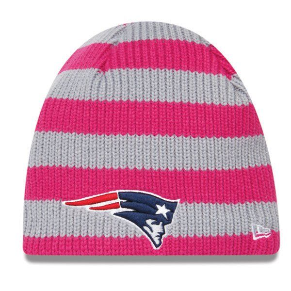 80fe891d3  Patriots Ladies New Era BCA Knit Hat... Pink AND my favorite team  Yes