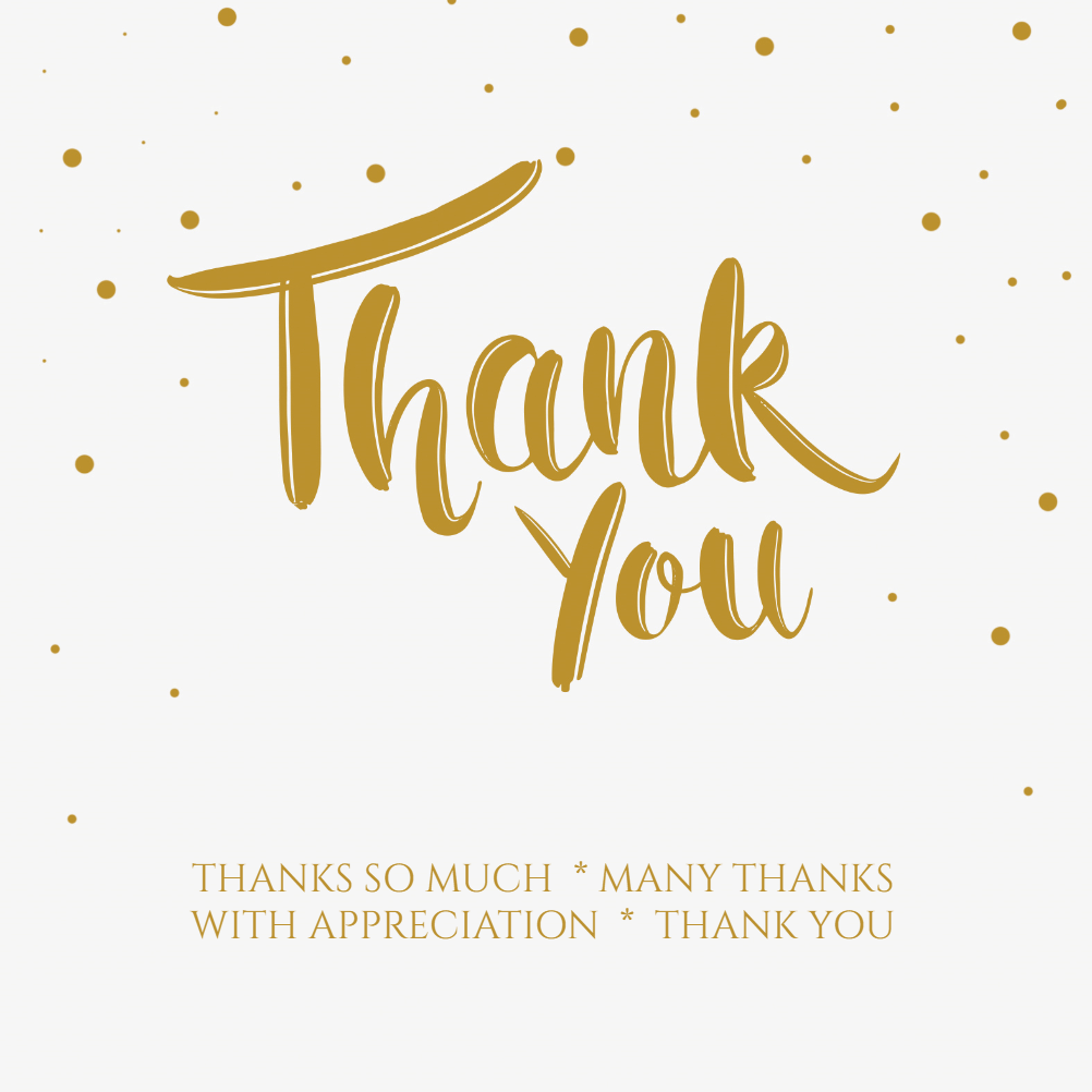 spotlight thank you card template free in 2019 desserts