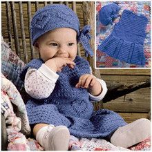 Heart-Winning Dress & Hat Crochet Patterns ePattern