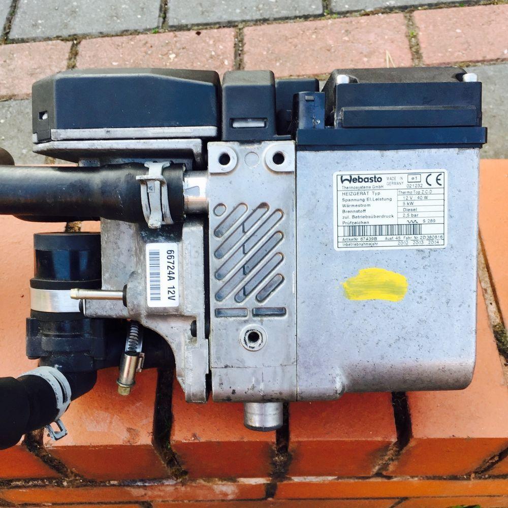 Vw Bmw Audi Webasto 12v 26w Diesel Water Heater Thermo Top