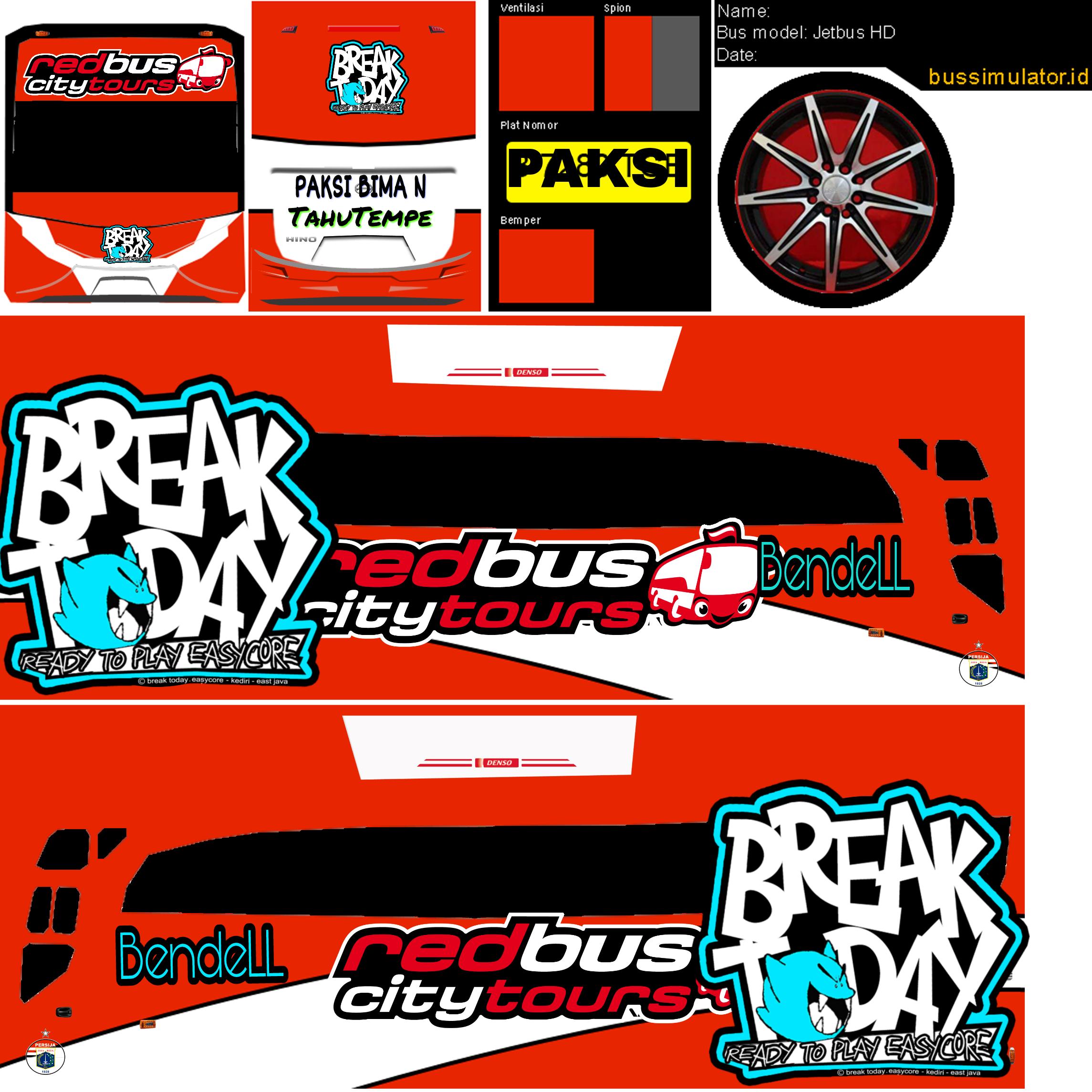 freetoeditLivery Bussid skin hd remixit di 2020