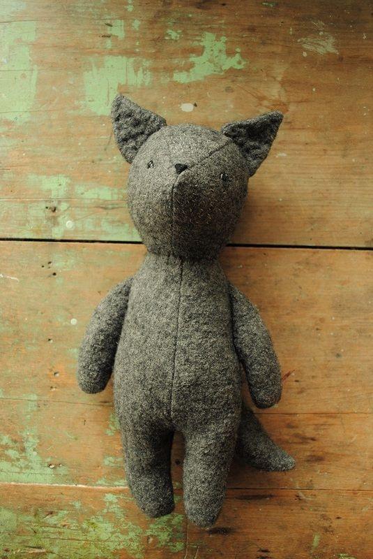 little wolf sewing pattern by Willowynn | tuskudýr | Pinterest ...