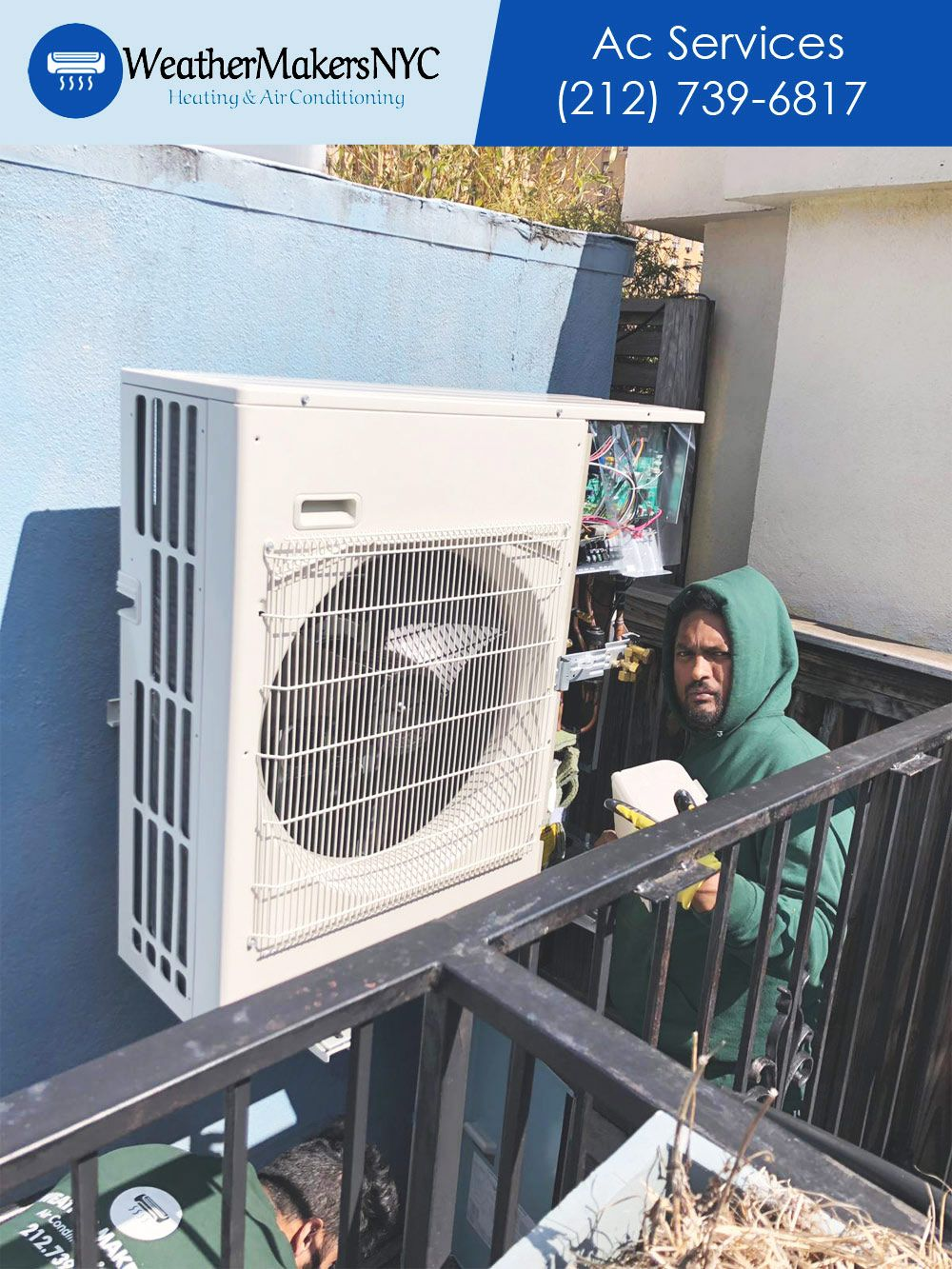 Call Weathermakers Air Conditioning At 212 739 6817 For Air