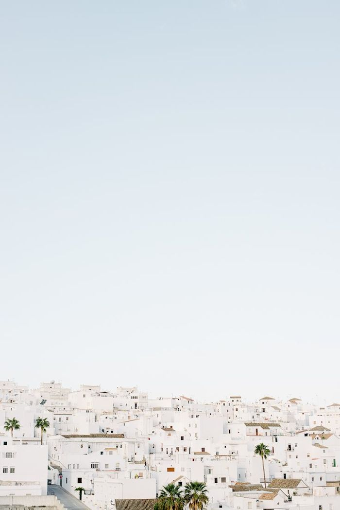 White houses, Andalusia, Spain