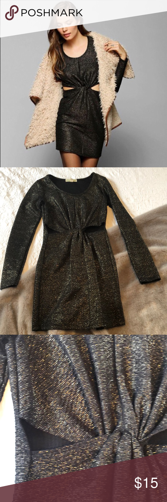 Urban outfitters staring at stars cut out dress my posh picks