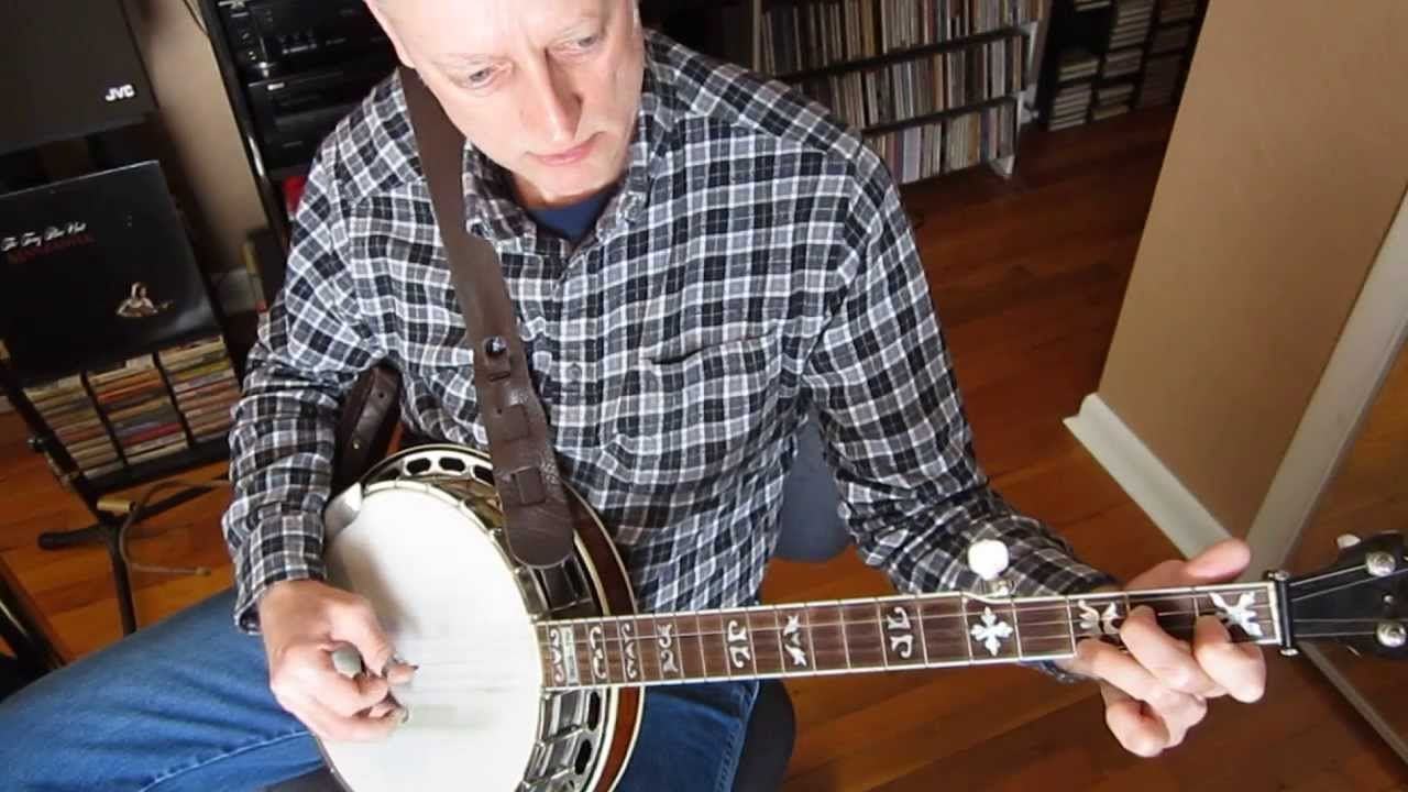 Rhythm Banjo Part 14 F chord roll pattern (With images