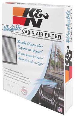 K N Cabin Air Filters Provide Allergen Filtration And Hvac Performance Cabin Air Filter Cabin Filter Air Filter Material