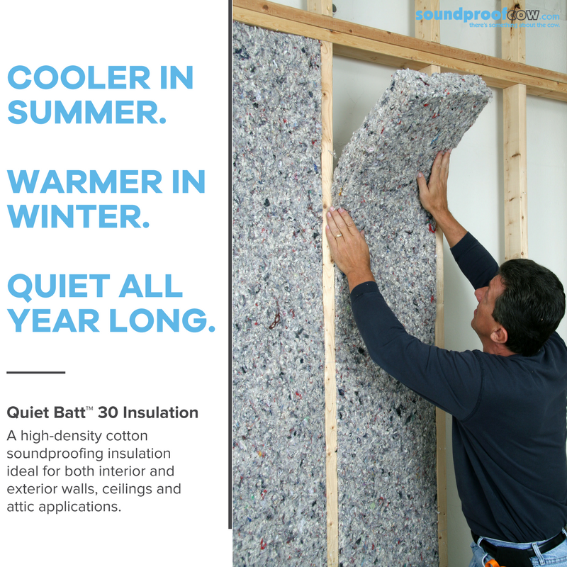Quiet Batt 30 Premium Soundproofing Insulation Batt Insulation