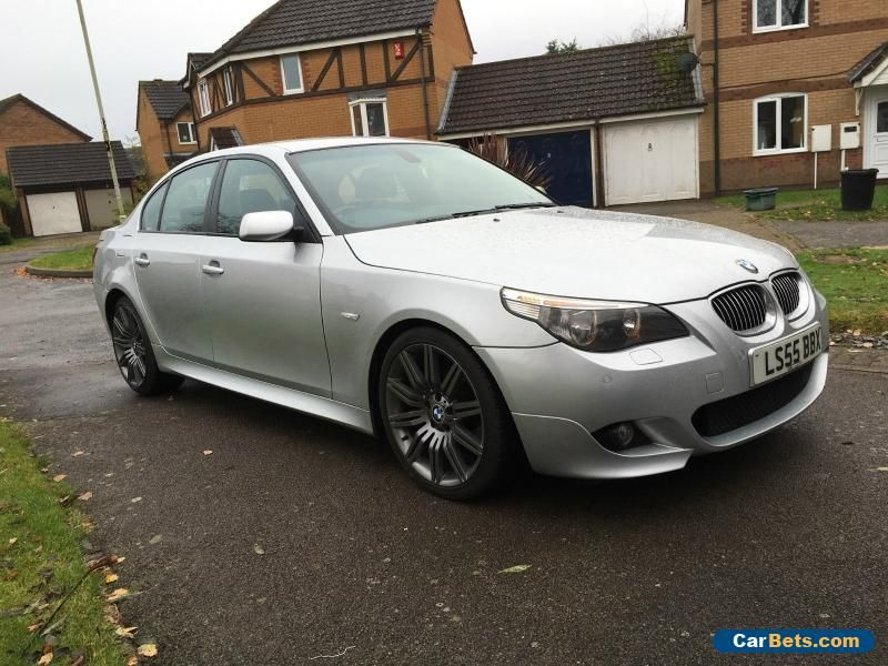 Car For Sale Bmw 5 Series 520d M Sport 4dr Saloon E60 19 Spider