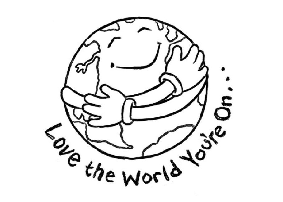 earth day coloring pages | Occupation | Pinterest