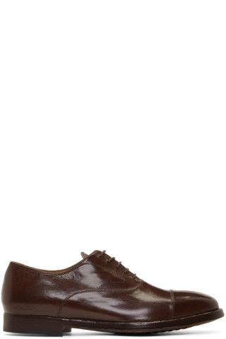 Herve Oxfords Creative Officine Brown Chaussures Pinterest zqf71pE