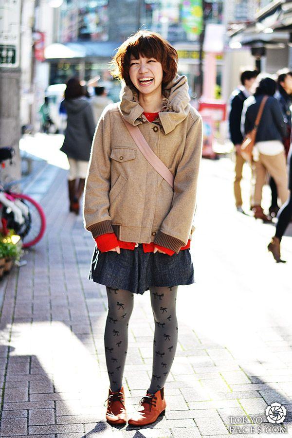 Honami Super Cute And Also Tres Chic Rockin Some Mercy Ne Net Tsumori Chisato In Tokyo