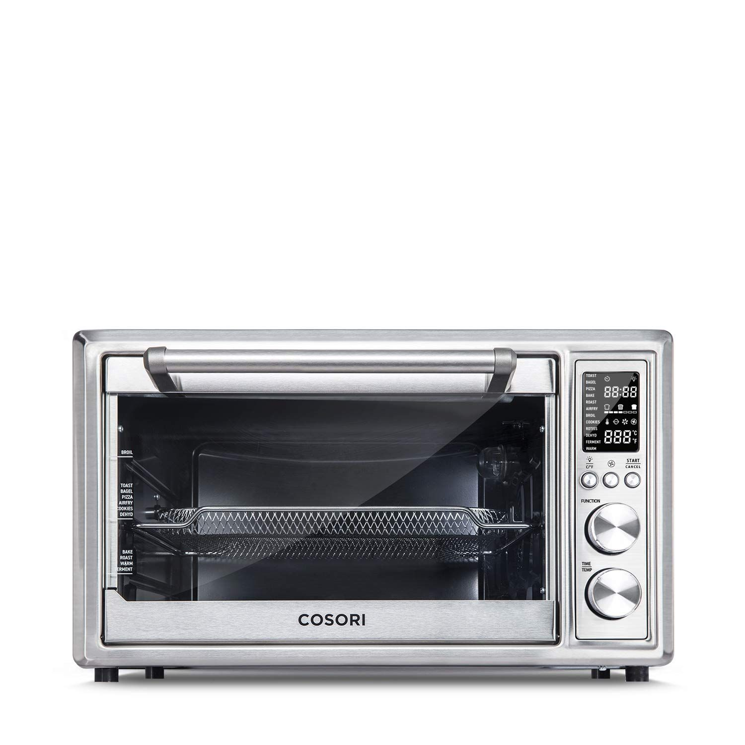 Cosori Co130 Ao Air Fryer Toaster Oven 30l Silver
