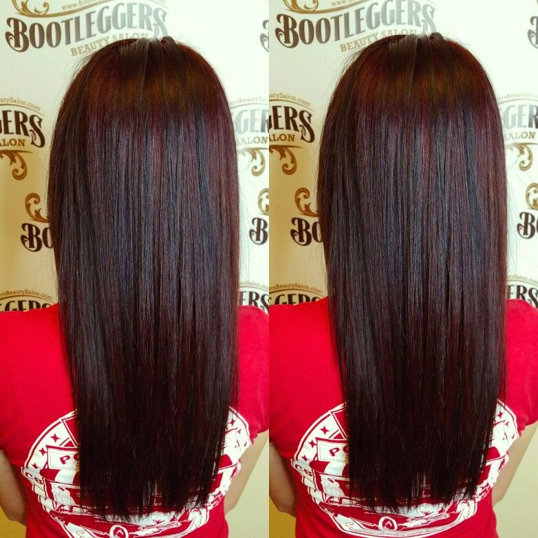 Dimensional Red Mahony With Deep Brown Balayage Colormelt Created With Joico Hair Color Auburn Balayage Brown Balayage Stylish Hair