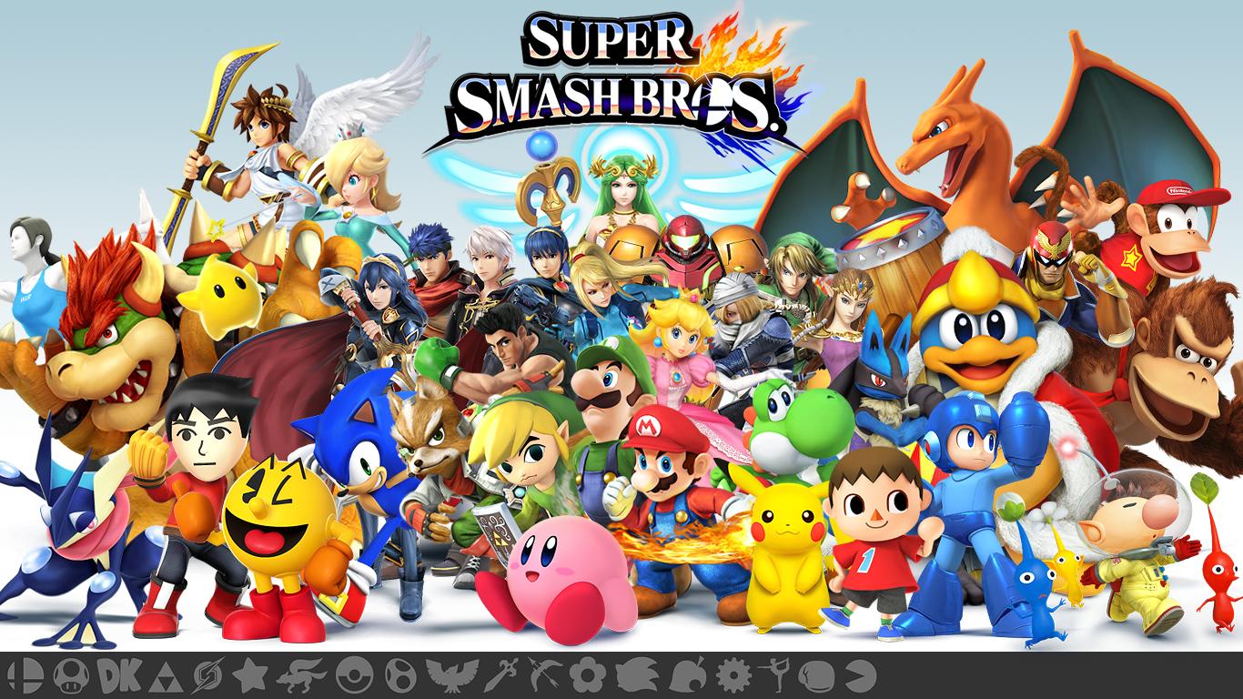 Super Smash Bros 3ds Wiiu Smash Bros Wii U Super Smash Bros