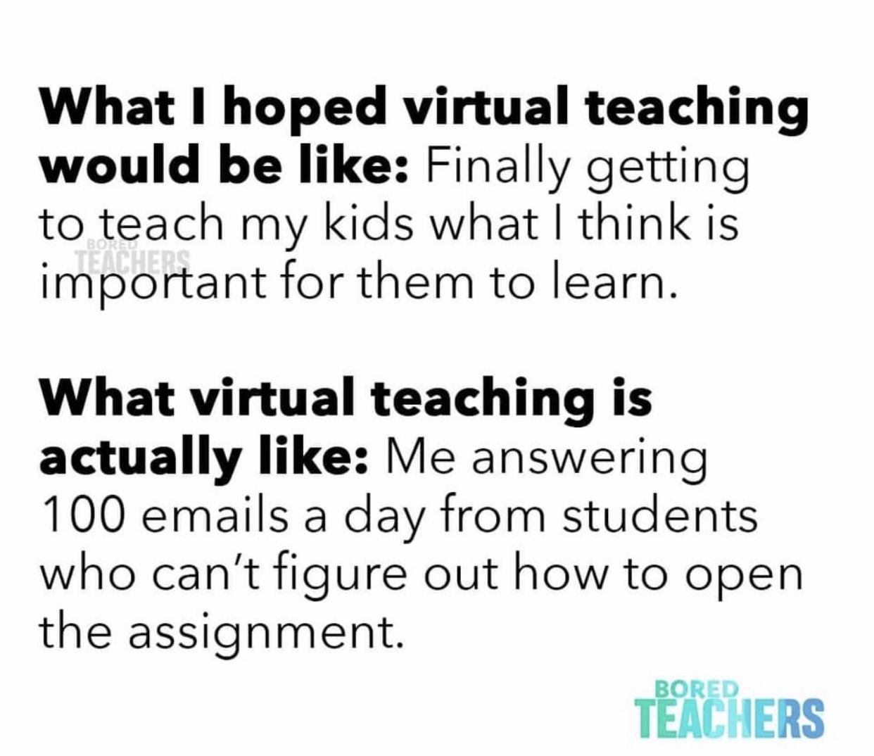 Pin On Distance Learning Humor