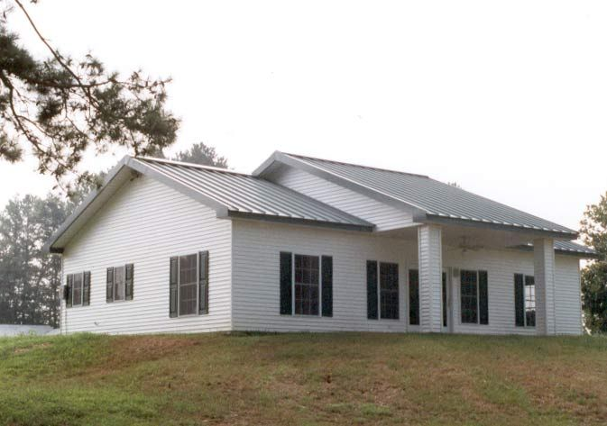 Truly American Traditional Metal Frame Home (HQ Plans & Pictures ...