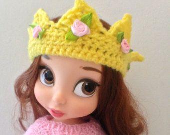 Gehäkelte Krone Headband Disney Trickzeichner von SherbetLemoni