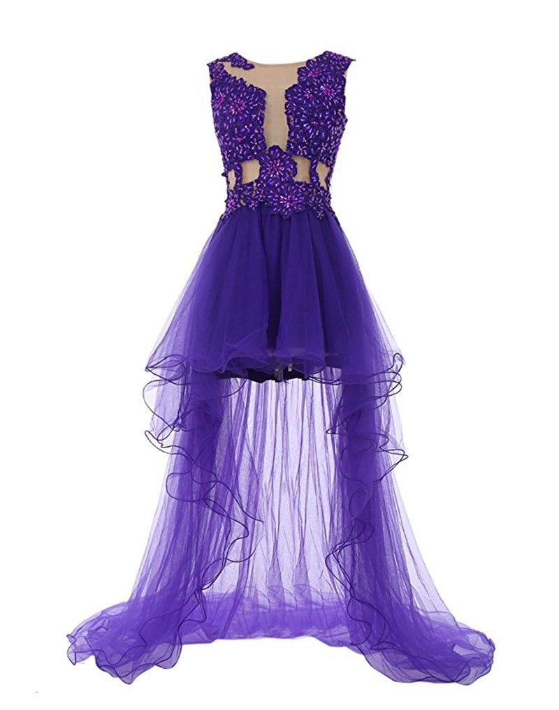 High low prom dress de gala curto sexy prom dress pinterest