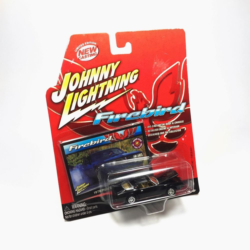 New Johnny Lightning 1978 Pontiac Firebird 1 64 Scale Diecast