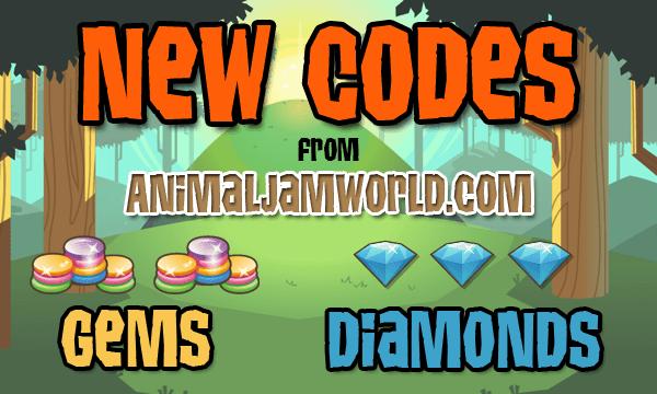 Animal Jam Codes for Gems & Diamonds 2019 - Cheats List ...