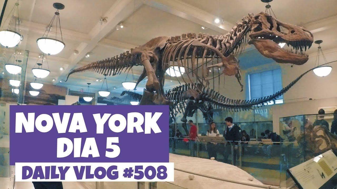 Nova York: Museu de História Natural e Times Square à noite | DAILY VLOG #508 https://youtu.be/8K_Klq35w50